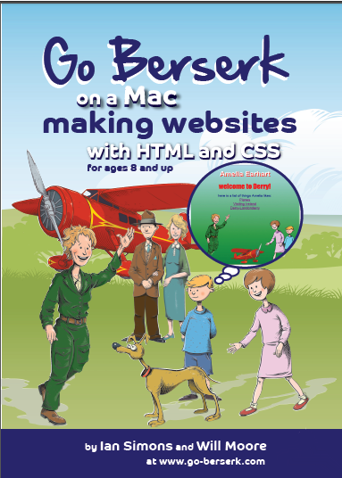 Go Berserk on a Mac making websites paperback