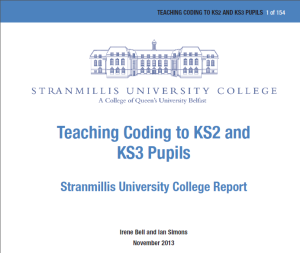 Stranmillis Report invitation