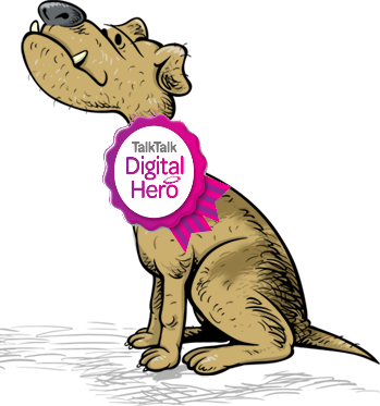 TalkTalk hero badge